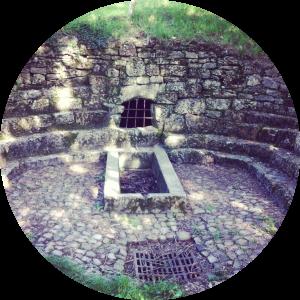 cercles du coeur fontaine rond